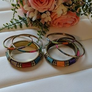 Colorful Fashion Bracelets Bangles
